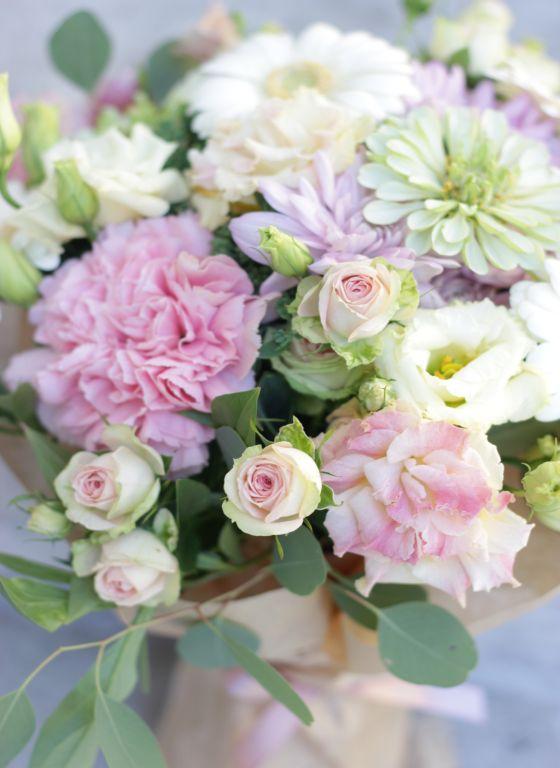 pastelne lillekimp, lilled, kimp