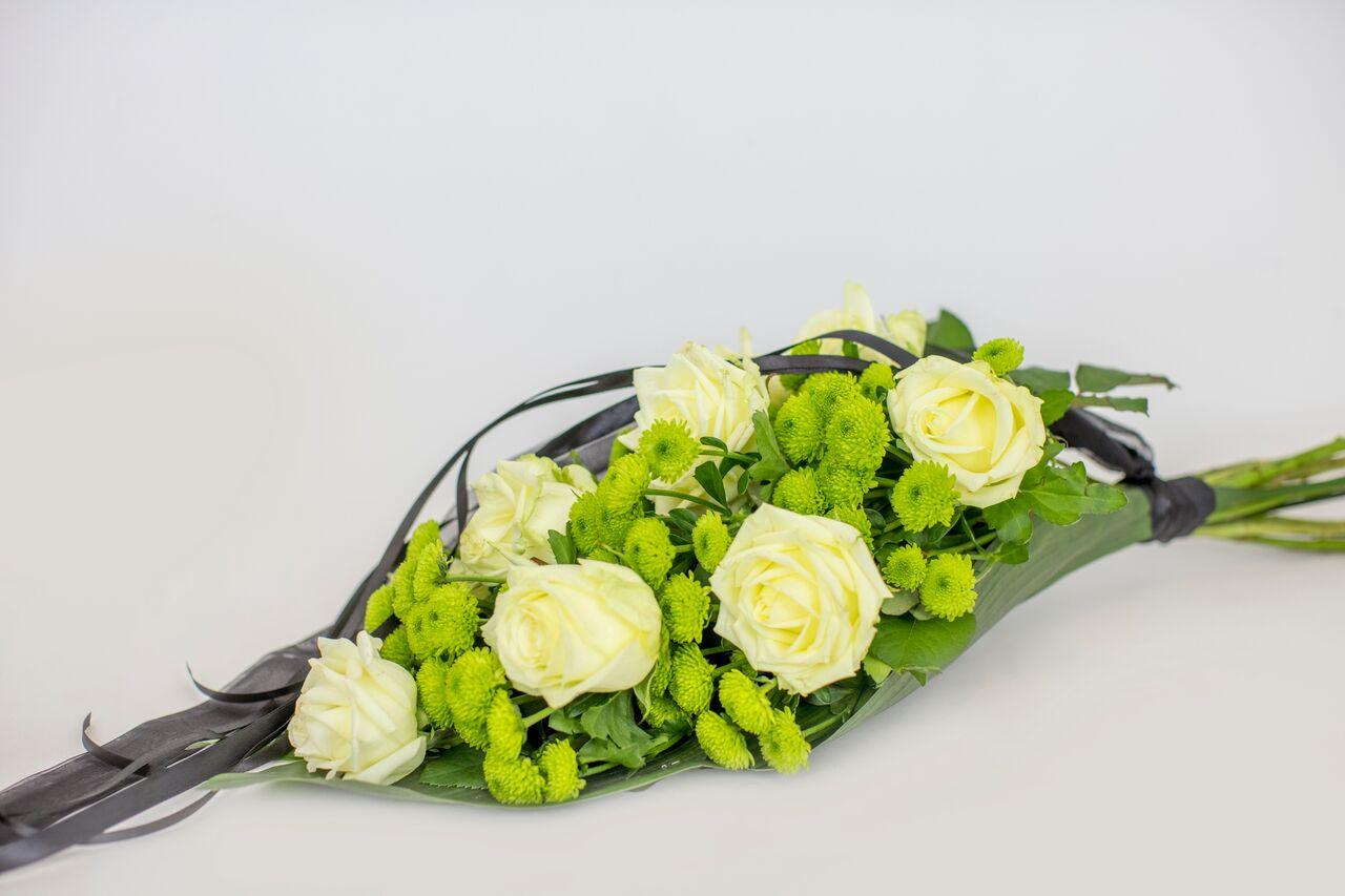 Käsileinakimp rohelise valgega