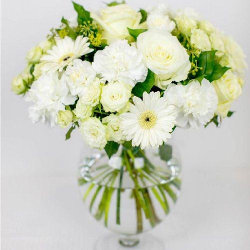 Puhas valge - Kolm Lille lillepood