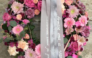 Lillepärg roosades toonides - Kolm Lille lillepood