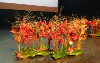 Lavakaunistus KUMUs - Kolm lille lillepood